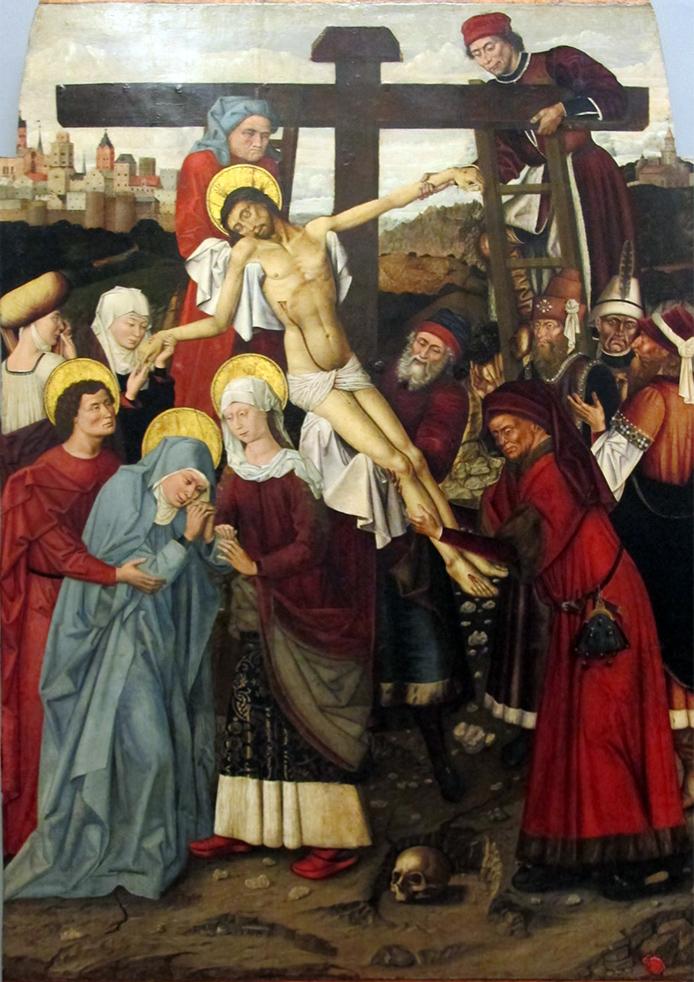Colantonio, Deposizione, 1455-60