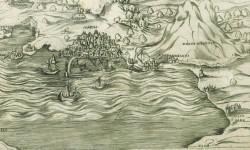 Panorama di Napoli alla fine del 1400