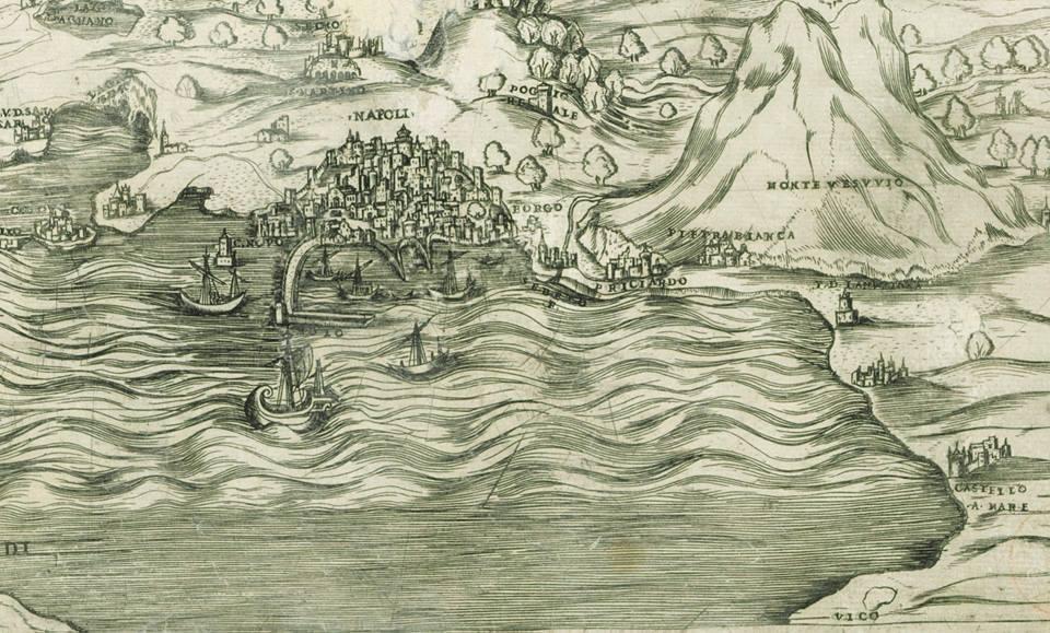 Napoli 1538 - dettaglio