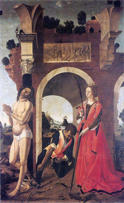 Pagano Martirio S Sebastiano