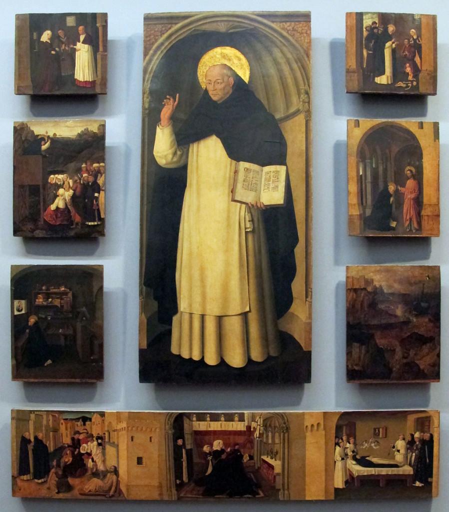 Colantonio, S. Vincenzo Ferrer e sue storie, 1460