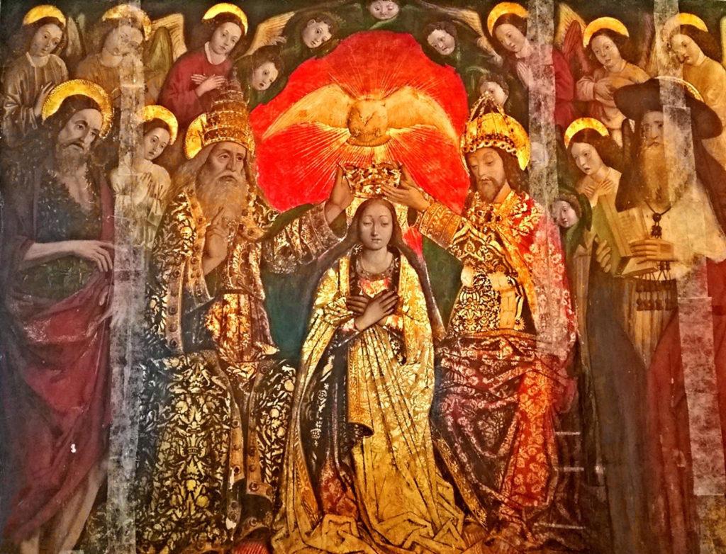 Pietro Befulco, Incoronazione della Vergine