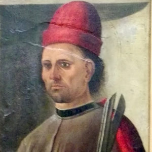 Pagano - Sant'Omobono, dettaglio