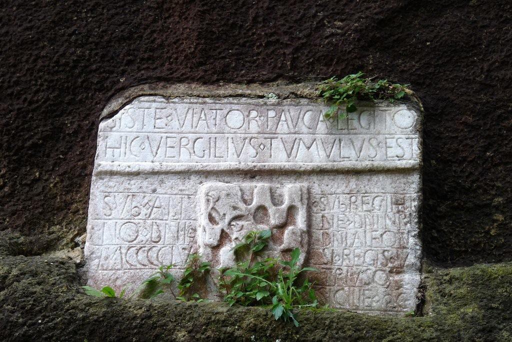 crypta neapolitana lapide Virgilio