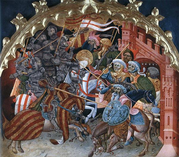 Battaglia di Puig - Altare di S. Giorgio - Jérica