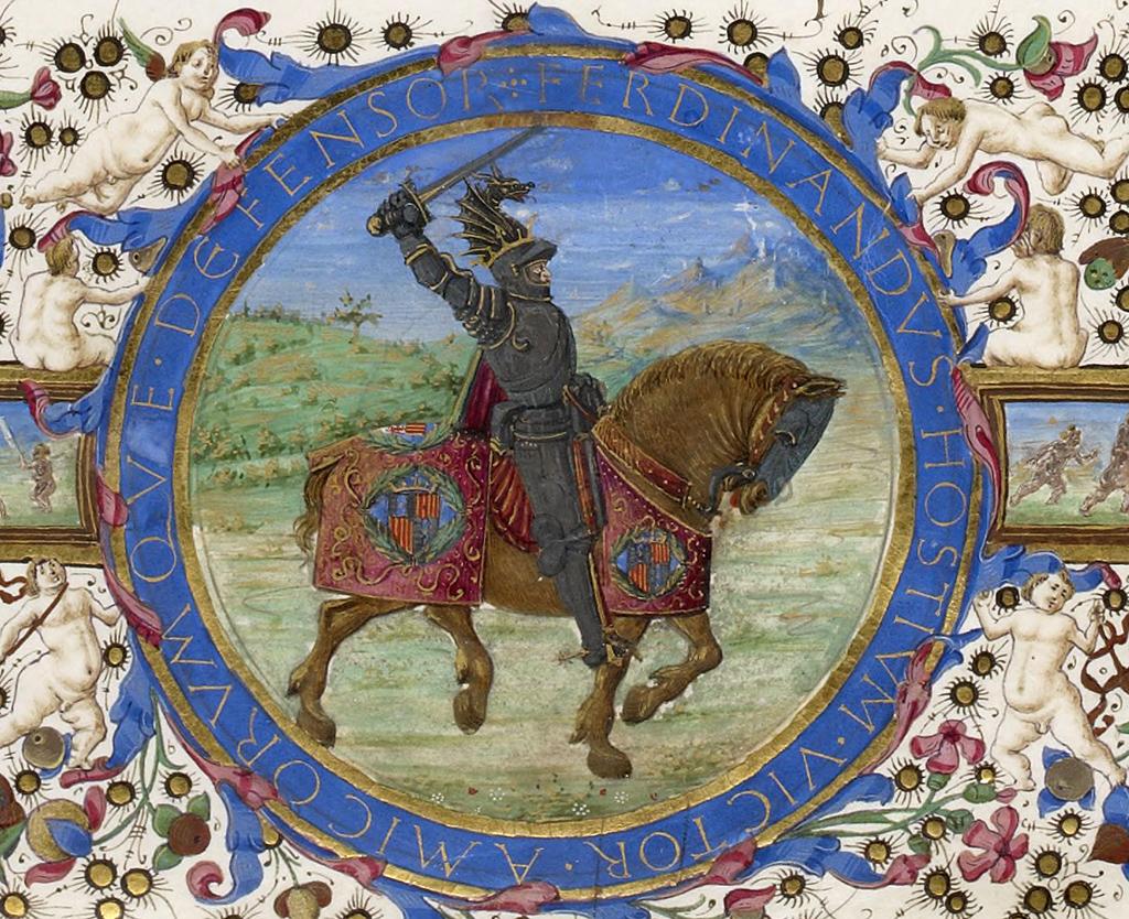 Ferdinando I ritratto equestre
