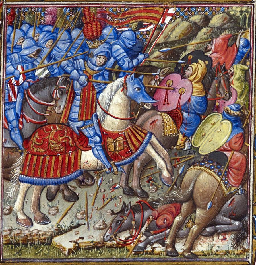 Libro d'ore di Alfonso d'Aragona - f.78r - dettaglio