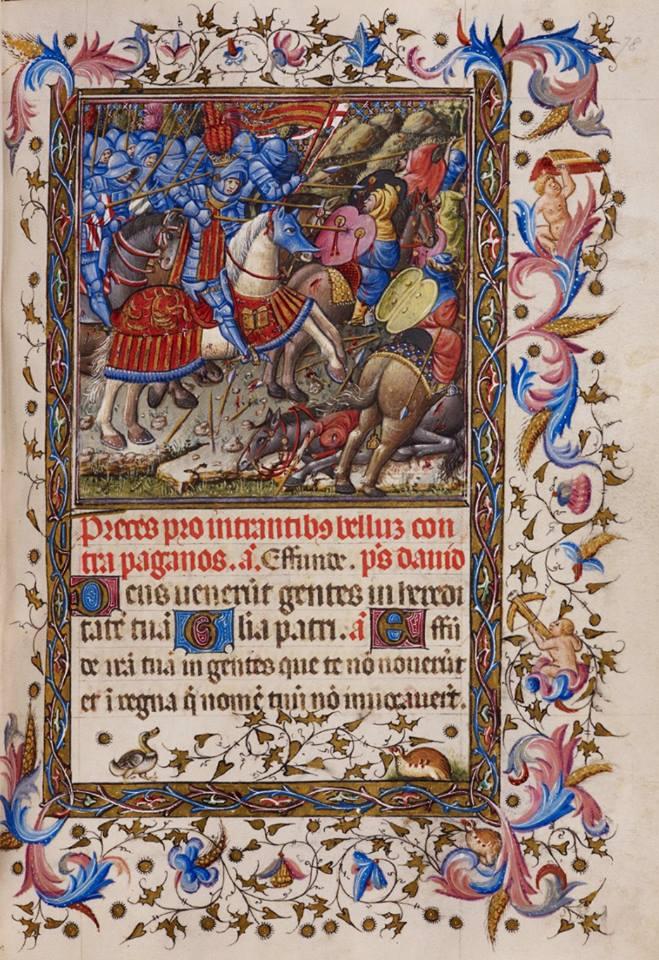 Libro d'ore di Alfonso d'Aragona - f.78r
