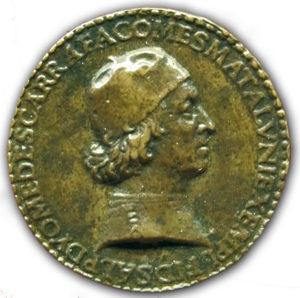 Medaglia Diomede Carafa di Giovanni Candida