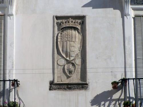 Stemma Aragonese Palazzo Carafa