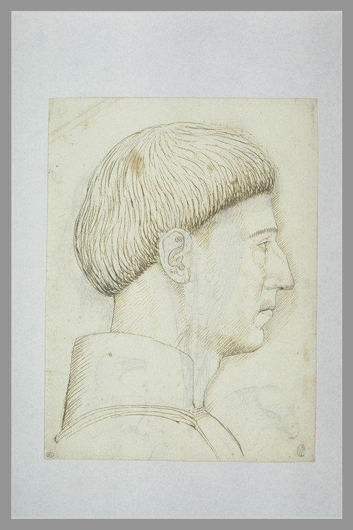 Ritratto di Alfonso d'Aragona di profilo