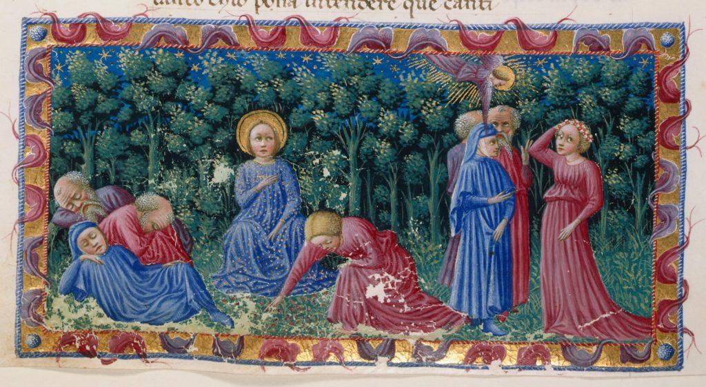 Divina Commedia di Alfonso d'Aragona Re di Napoli - f116