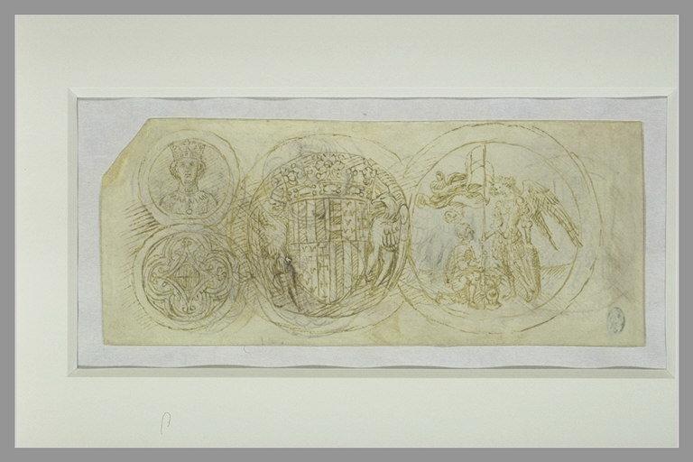 Medaglioni con le armi di Alfonso d'Aragona