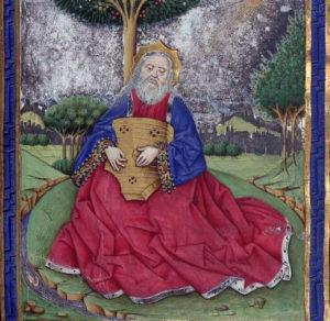 Salterio di Pasquasio Diaz Garlon - Davide in preghiera