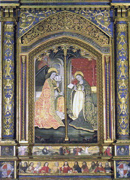 Angiolillo Arcuccio, Annunciazione di S.Agata dei Goti