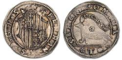 Armellina d'argento di Ferdinando I d'Aragona