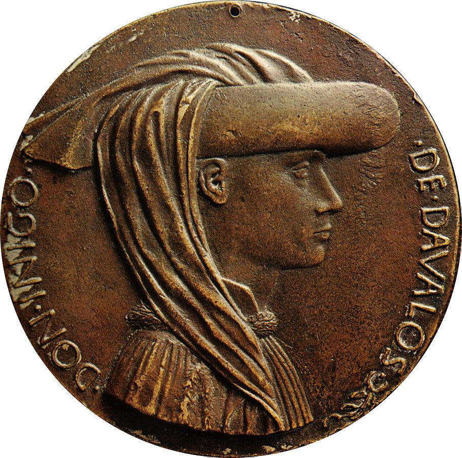 Antonio Pisanello - Medaglia di Ignigo dAvalos