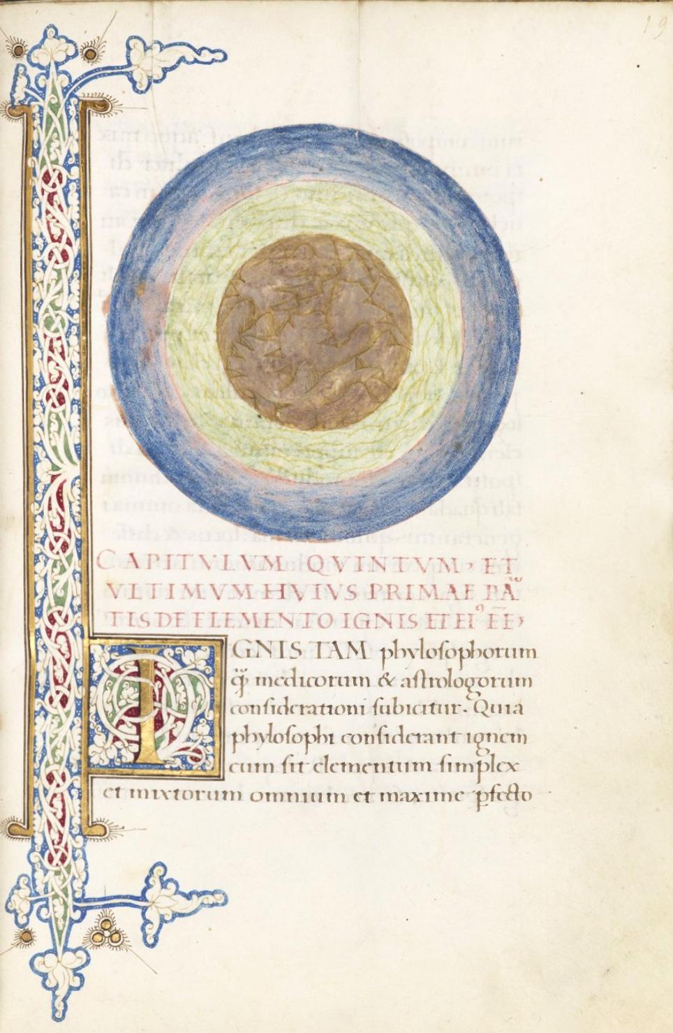 Napoli Aragonese | Compendio di Astrologia di Proliano, foglio 41