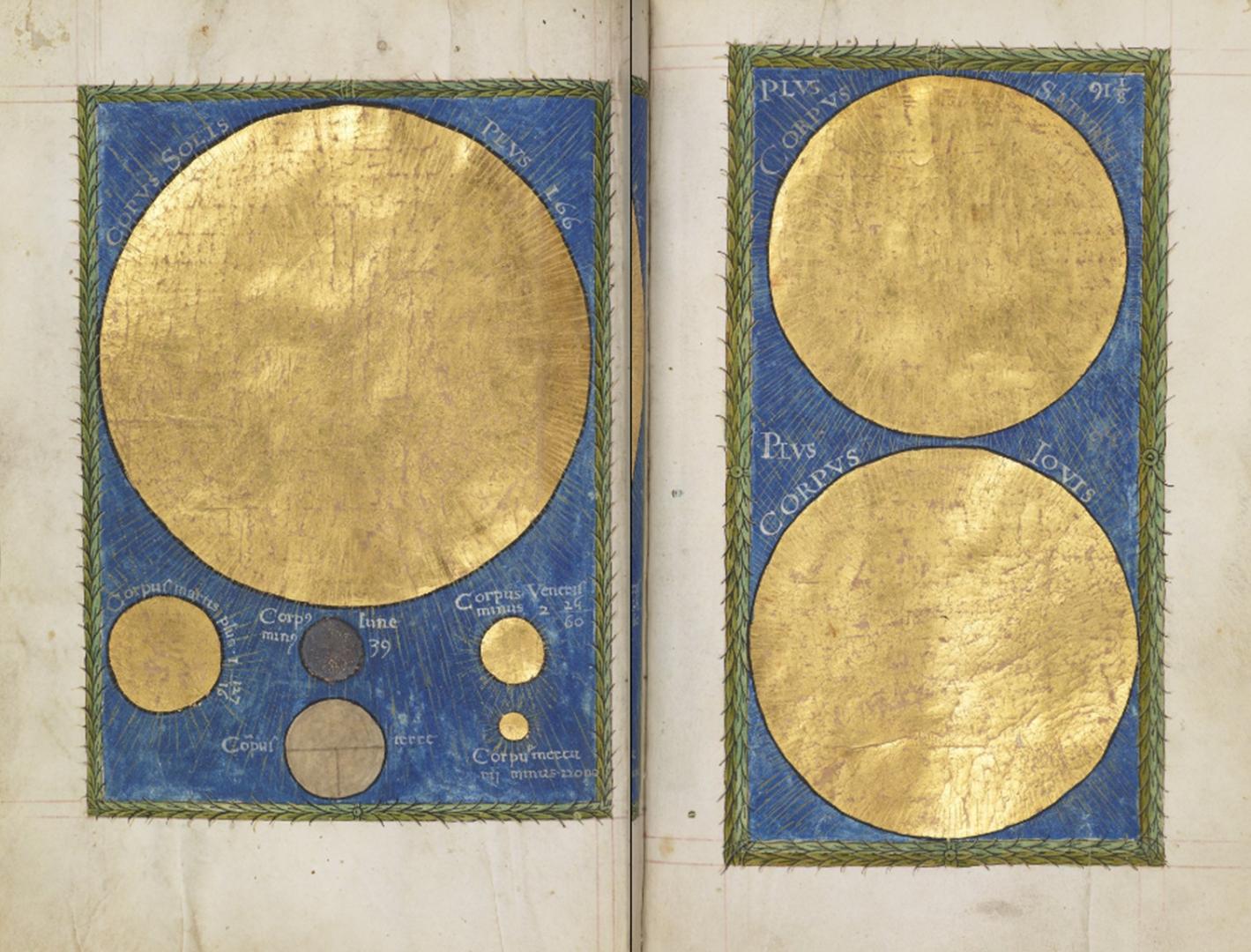 Napoli Aragonese | Compendio di Astrologia di Proliano, fogli 120-121